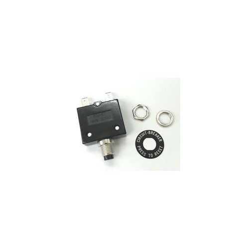 Push Button Reset Quick Connect Terminal Circuit Breaker Plastic - 30A