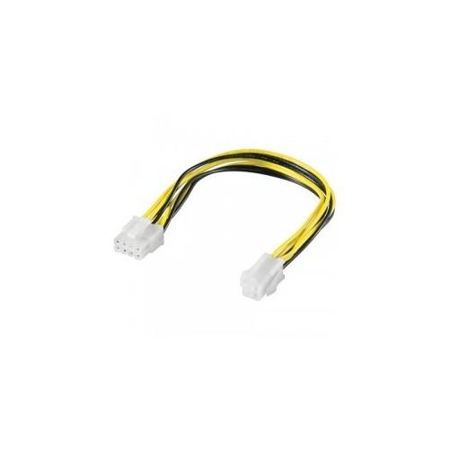Καλώδιο τροφοδοσίας, ATX-12V 4 pin αρσ. σε PCIe 8 pin θηλ