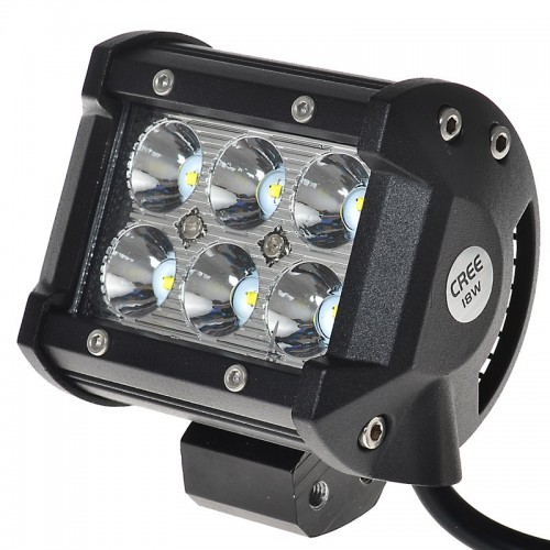 "Car Led Light Bar 4\""inch 18W 4D led Work Light Bars"