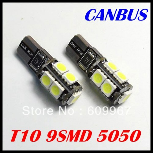 T10 9led CANBUS LED BULBS