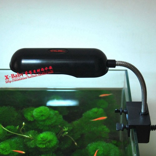 Mini Aquarium Light Aquatic Plant Lamp Clip Lamp Fish Tank Accessories 5W - 20CM