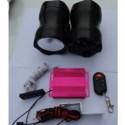 ΗΧΕΙΑ ΜΟΤΟΣΥΚΛΕΤΑΣ ΜΕ MP3 - USB - FM RADIO - ALARM + LED
