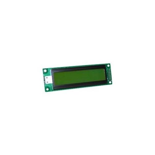 DISPLAY LCD CHARACTER 2X24 ΜΕ ΦΩΤΙΣΜΟ ΠΡΑΣΙΝΟ
