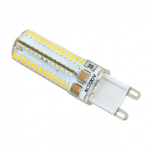 G9 Lamp Beads 5w Silicone Led Bulb 220V 104 3014 SMD Bulb Warm White