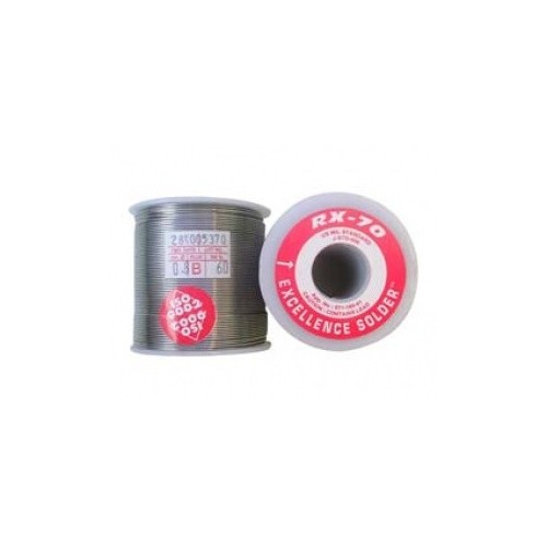 SOLDERING 1mm RX70 60/40 1/4kgr RED