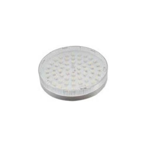 ΛΑΜΠΑ LED FLAT GX53 3W 60LEDS 120° 25X75 WW (3200K)