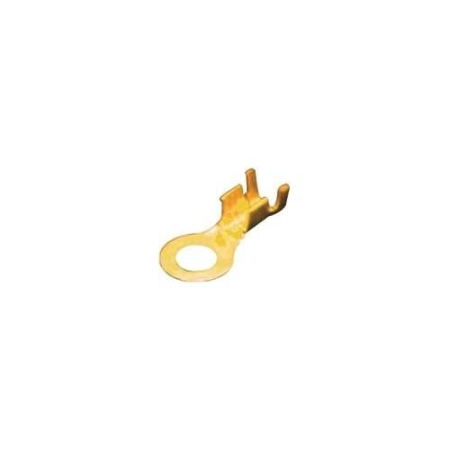 NAKED SINGLE-HOLE CABLE LUG 6.3-2.5 BRASS 6926451