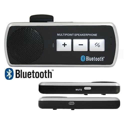 Multipoint Speakerphone Wireless Handsfree Bluetooth Car Kit
