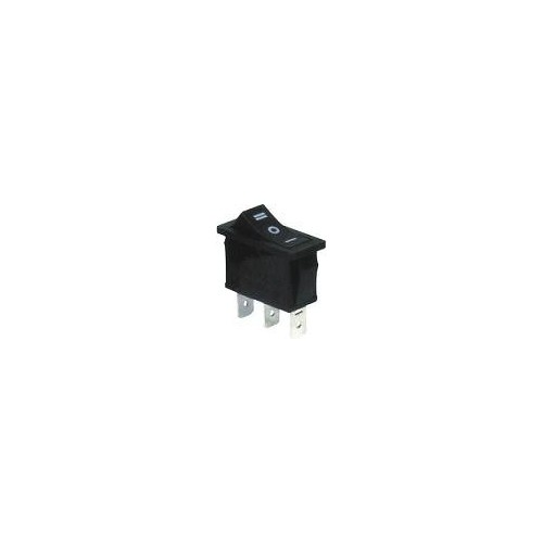 MEDIUM ROCKER SWITCH 3P W/O LAMP ON-OFF-ON 16A/250V