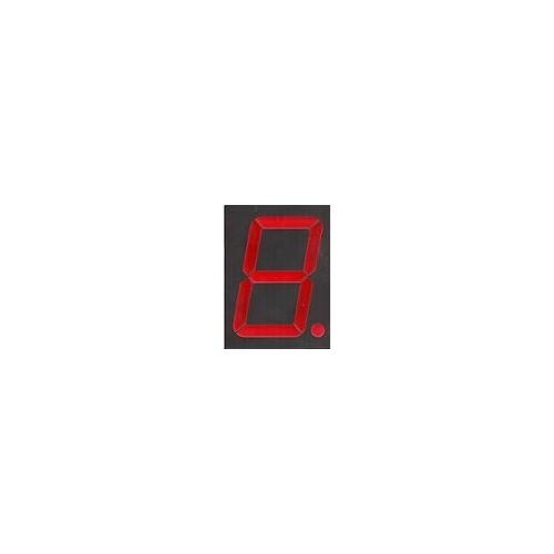 JUMBO SEVEN SEGMENT LED DISPLAY 90*122 ΧΙΛΙΟΣΤΩΝ ΚΟΚΚΙΝΟ