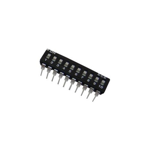 DIP SWITCHES  10 POSITION EAH SERIES