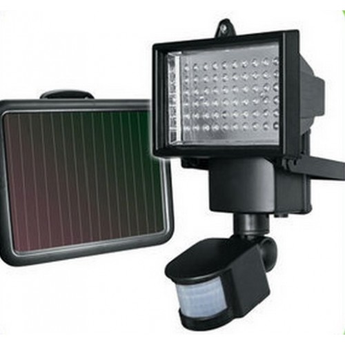 LED Super Bright Solar Security Light Floodlight With PIR Motion Sensor
