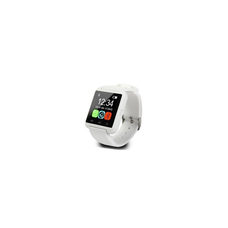 U8 Bluetooth SMART WATCH WHITE ΤΗΛΕΦΩΝΙΑ