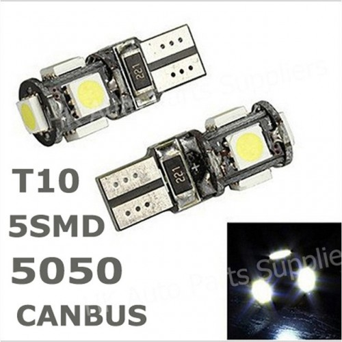 T10 5led CANBUS LED BULBS