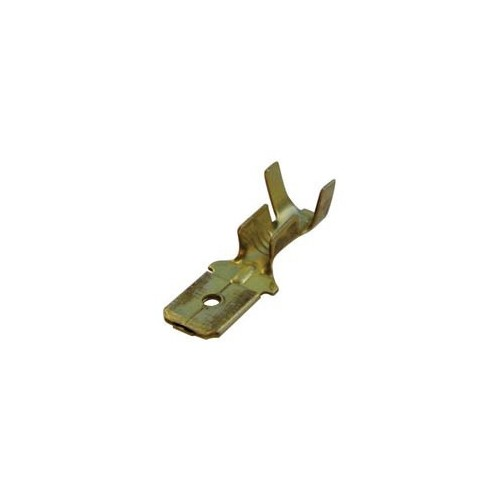NAKED MALE SLIDE CABLE LUG 4.8-1.3 BRASS 805202 CYI