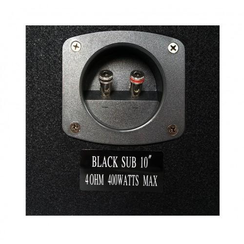 """BLACK SUB 10\\"""" ΗΧΕΙΑ CAR"""