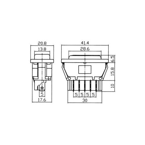 SWITCH STEERING WINDOW CARS' ASW-02