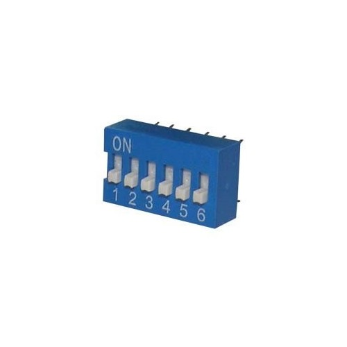 DIP SWITCHES 6 POSITION EDG SERIES