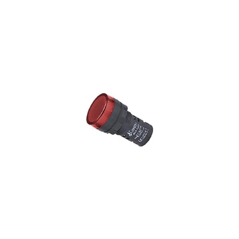 Ad22-22ds 22mm LED Red Indicator Lamp Siginal Indicating Lamp