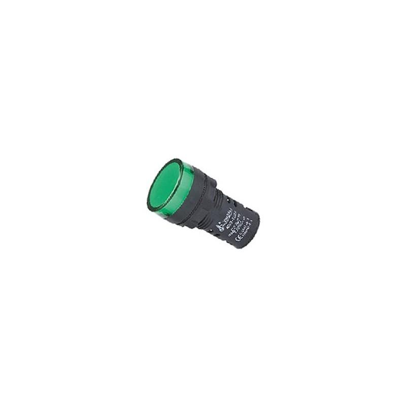 ΕΝΔΕΙΚΤΙΚΗ ΛΥΧΝΙΑ ΒΙΔΩΤΗ Φ22 ΧΩΡΙΣ ΚΑΛΩΔΙΟ + LED 220V