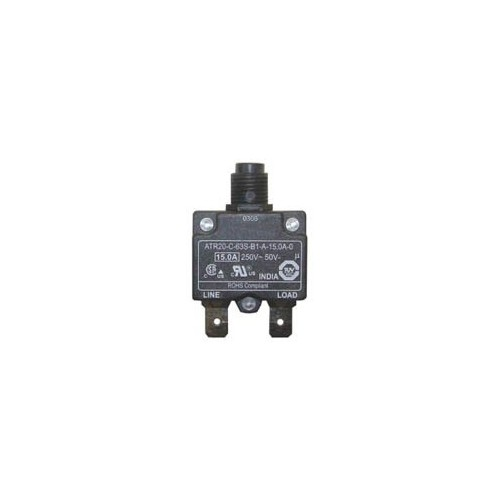 CIRCUIT BREAKER 250V 2PIn 125-250V