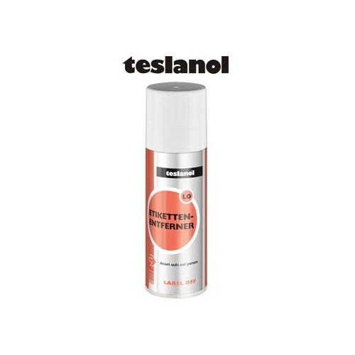 26008 LABEL OFF TESLANOL