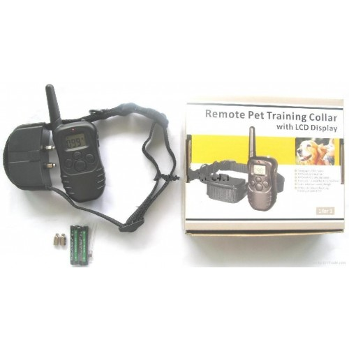 REMOTE PET TRAINING COLLAR LCD ΑΠΩΘΗΤΙΚΑ ΖΩΩΝ