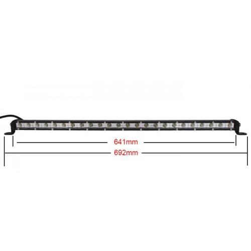 LED LIGHT BAR 72W SLIM LED BAR