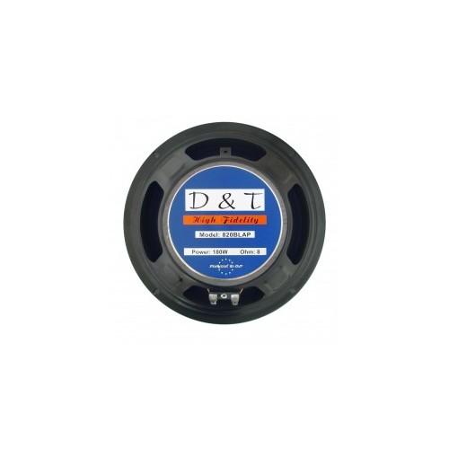 """High-cut Wave Paper Cone Series Woofer Megaphone with Black Foam Edge 8\\"""", 8Ω, 180W."""