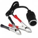 Car Plug Cable Cigarette Lighter Socket Adapter