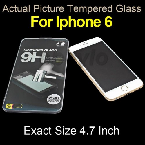 ΠΡΟΣΤΑΤΕΥΤΙΚΗ ΜΕΜΒΡΑΝΗ IPHONE 6 TEMPERED GLASS