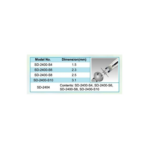 FORKED SCREWDRIVER SD-2400-S8 T/PROskit
