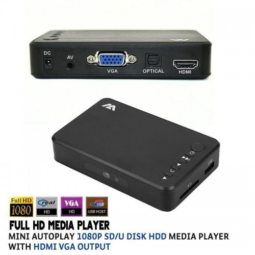Mini 1080P Full HD Media Player