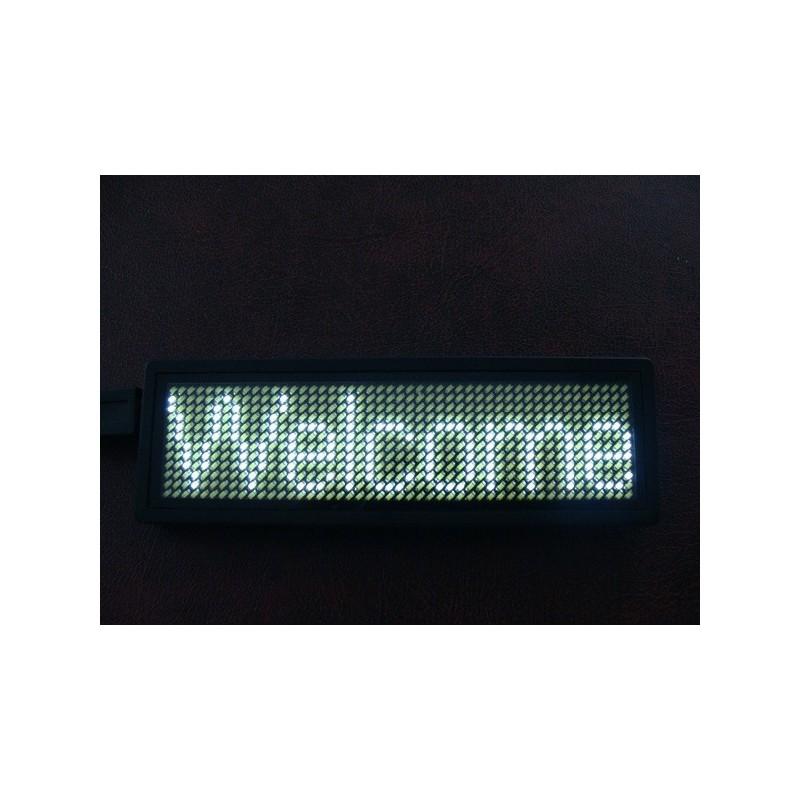 led-badge-sign white ΠΙΝΑΚΙΔΕΣ LED