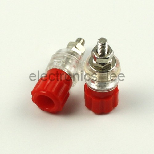 BANANA JACK RED CONNECTORS