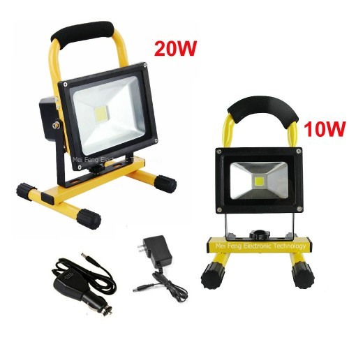 RECHARGEABLE FLOODLIGHT 20w ΠΡΟΒΟΛΕΙΣ