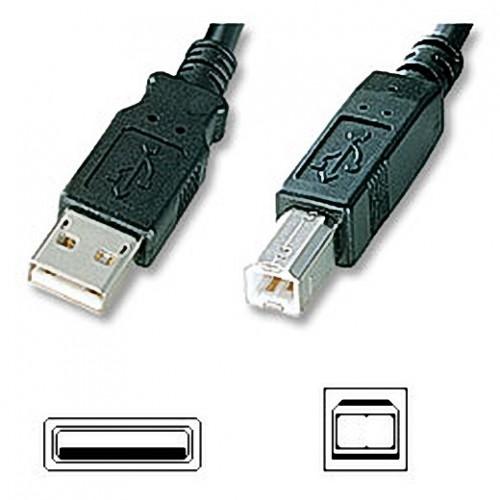 ΑΠΛΟ ΚΑΛΩΔΙΟ USB2 A-B ΑΡΣ - ΑΡΣ 5 MΕΤΡΑ