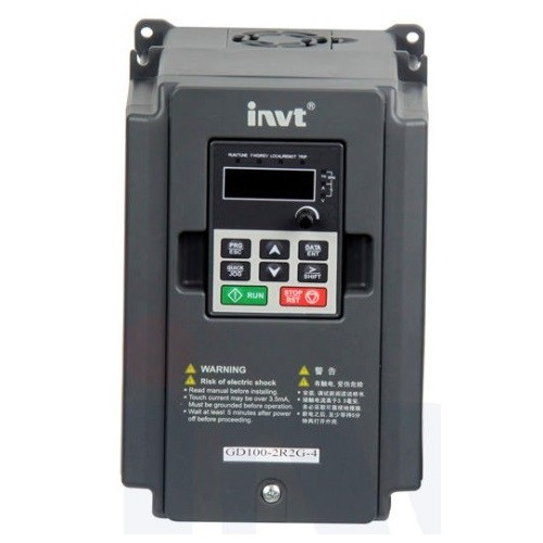FREQUENCY INVERTER GD10 3PHASE INPUT/OUTPUT 400V 0.75KW
