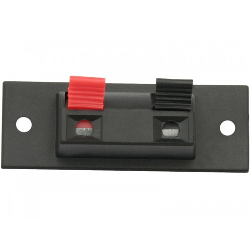 SPRAKER CONNECTOR PLATE 2PIN