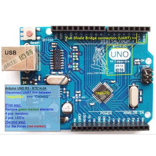Arduino oem UNO R3 ATmega328P Board