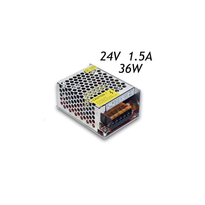 24V 36W Switching power supply