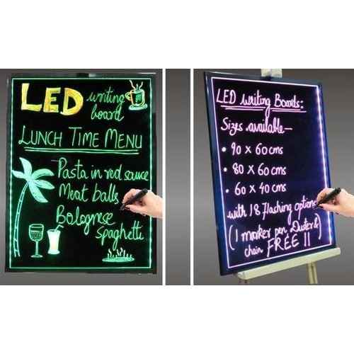 LED WRITING BOARD 60X80 ΠΙΝΑΚΙΔΕΣ LED
