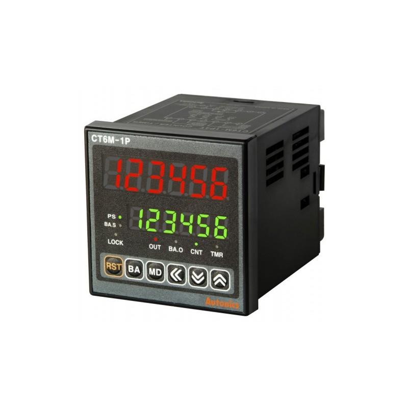 Counter&Timer W72xH72mm, 6-Digital