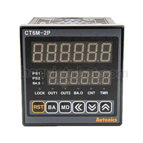 Counter&Timer W72xH72mm, 6-Digital
