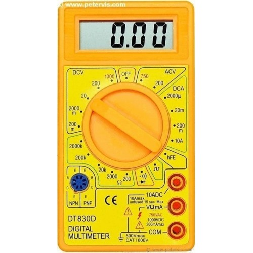 DT 830D Digital Multi Meter