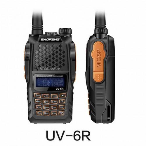 Професионална двубандова радиостанция Pofung UV-6R (Baofeng 6R