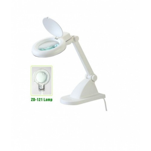 "Magnifying Lamp with 3.5"" Glass Lens ZD-121"