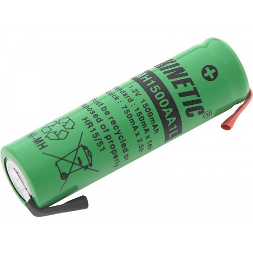 R6 battery, Ni-MH batteries soldering 1500mAh