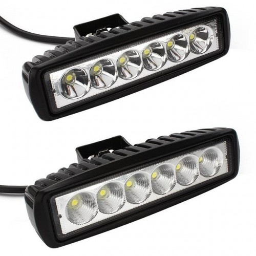 6inch 18W LED Work Light Bar