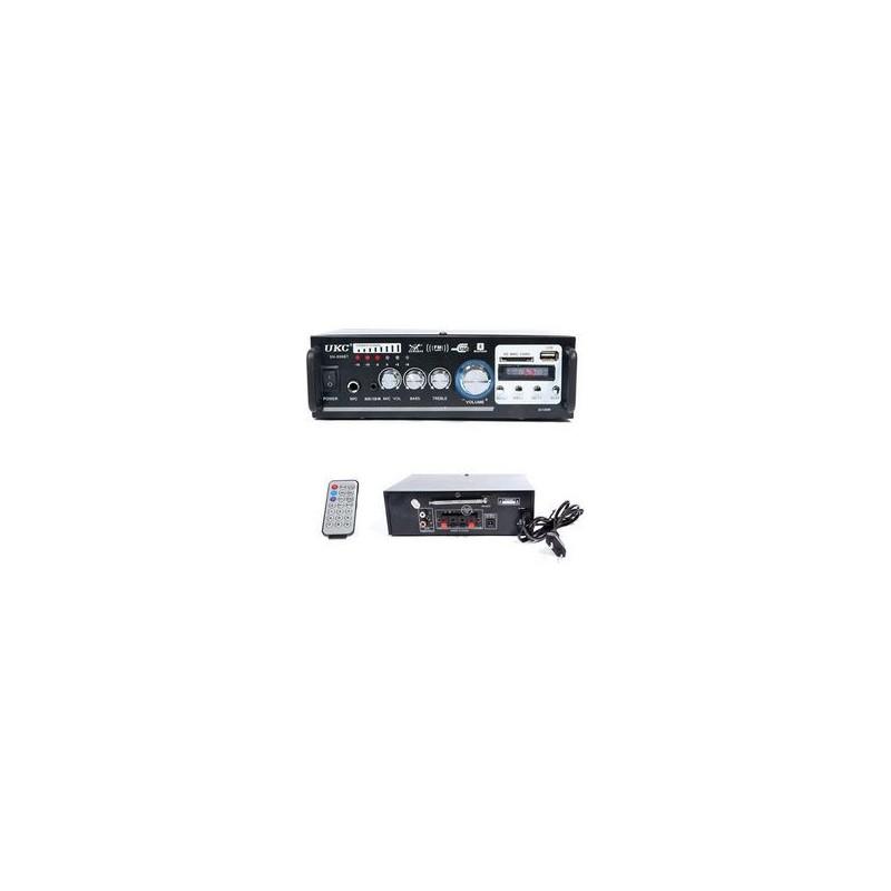 ΡΑΔΙΟ lcd ΕΝΙΣΧΥΤΗΣ ΜΕ BLUETOOTH + USB - MP3 + ΤΗΛΕΧΕΙΡΙΣΤΗΡΙΟ